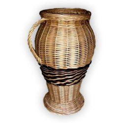 Fonott váza 45x25cm