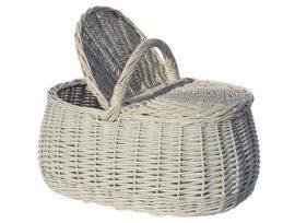 Piknik kosár 43x27x22x30 cm