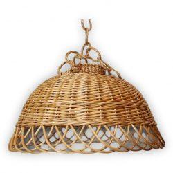 Fonott lámpabúra 46x20cm