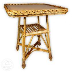Fonott négyzet asztal több méretben