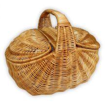 Piknik kosár 48x32x21(40)cm