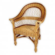 Fonott vessző fotel