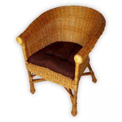Fotel párna(barna színű)