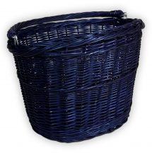 Kék kerékpár kosár 40x30x23/28cm