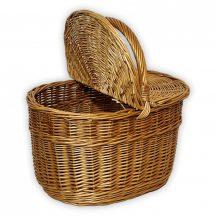 Piknik kosár   42x28x25/44 cm