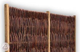 Fonott vessző kerítésbetét több méretben