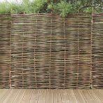 Mogyorófa fonott kerítés több méretben