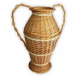 Fonott váza 50x60cm